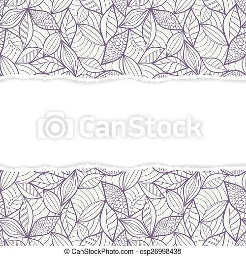 pattern with torn paper - csp26998438