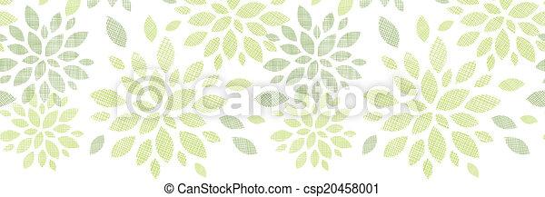 La textura de tela abstracta deja una estructura horizontal sin fondo - csp20458001