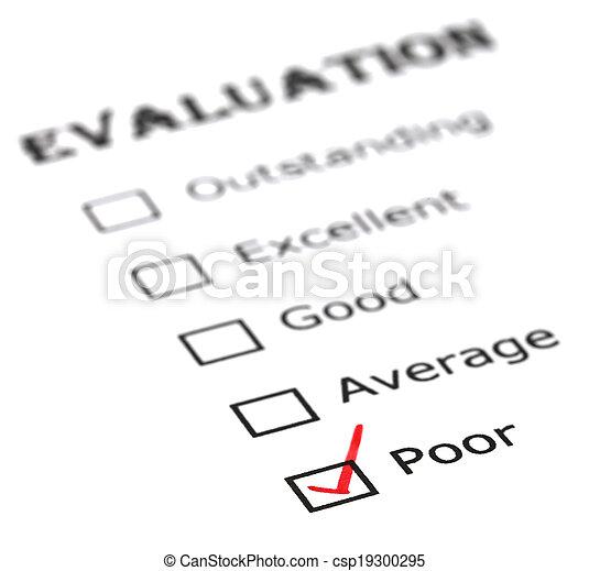 pauvre, évaluation - csp19300295