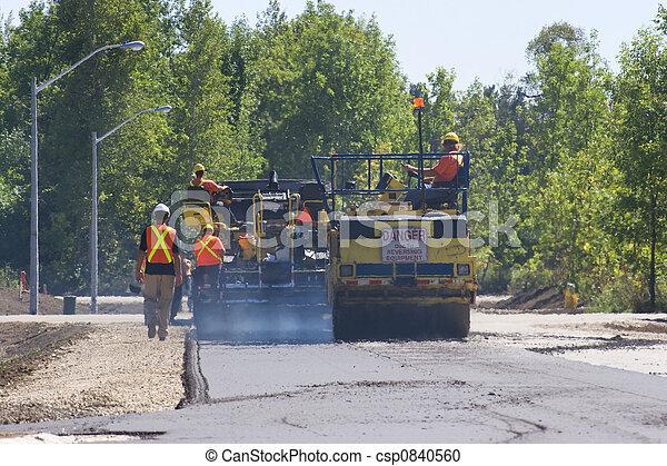paving roads - csp0840560