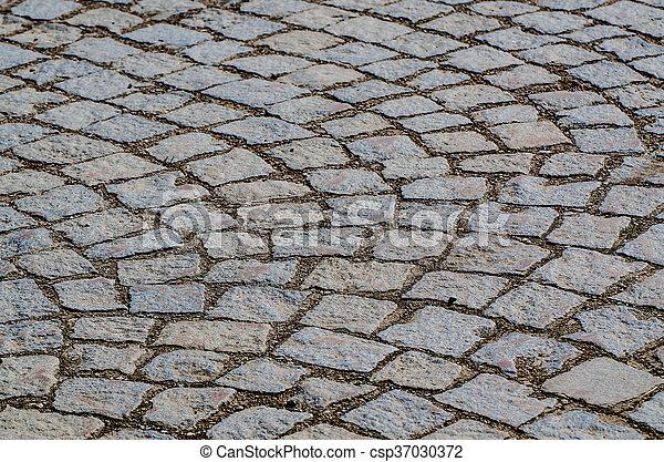 Paving stone background - csp37030372