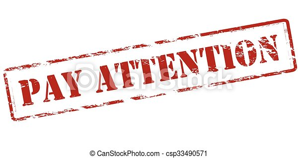 Pay attention - csp33490571