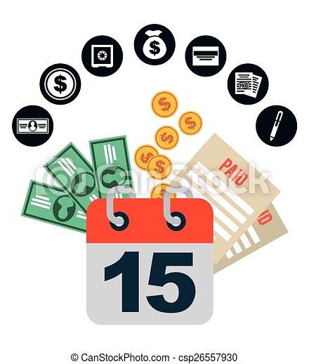 pay taxes  - csp26557930