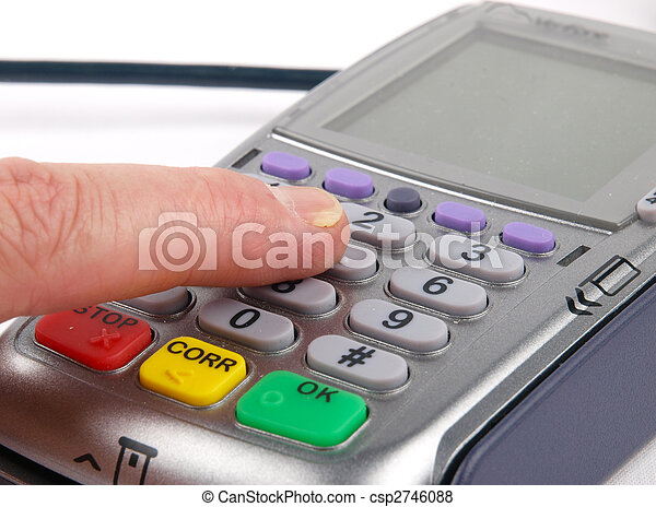 Payment terminal - csp2746088