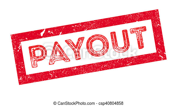 Payout rubber stamp - csp40804858