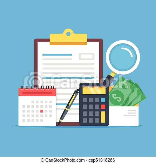 Payroll  Expenses, salary calculation concept  Flat design graphic elements  set  Premium quality  Modern concepts  Vector illustration