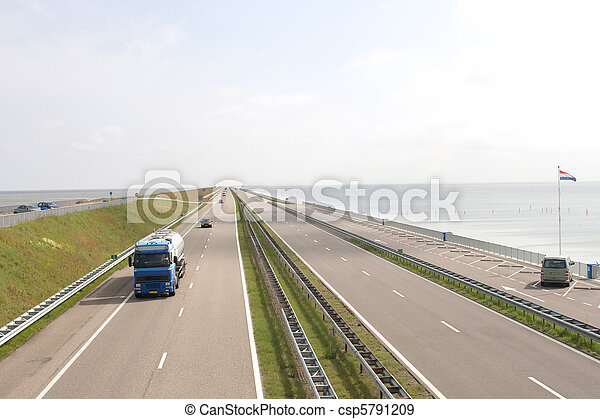 pays bas chauss e autoroute c l bre a7 afsluitdijk repris previously m depth il up. Black Bedroom Furniture Sets. Home Design Ideas
