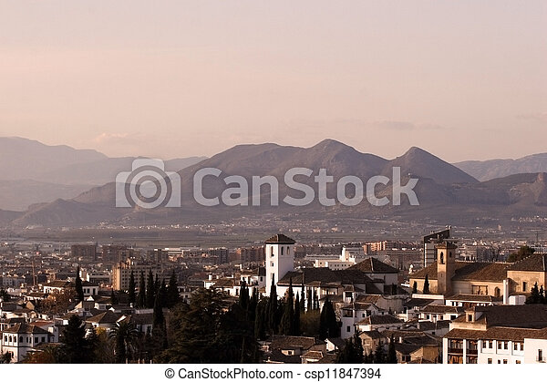 paysage, espagnol - csp11847394