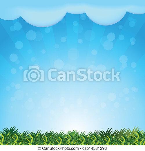 paysage, fond - csp14531298