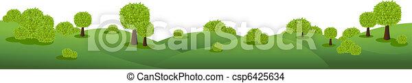 paysage, panorama - csp6425634