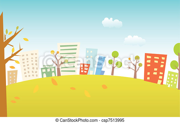 paysage urbain - csp7513995