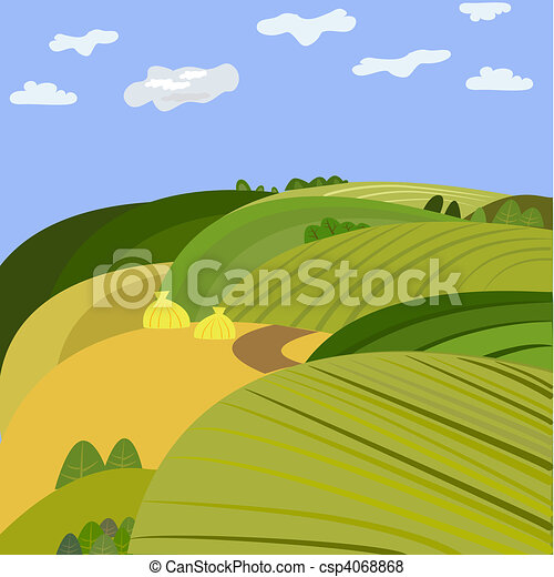 paysage - csp4068868
