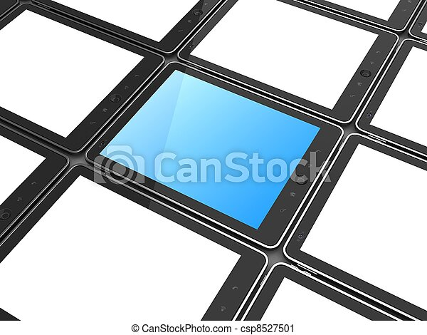 pc, high-detailed, tavoletta, digitale - csp8527501