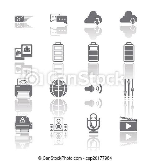PC Mobile Interface Icon EPS.10 - csp20177984