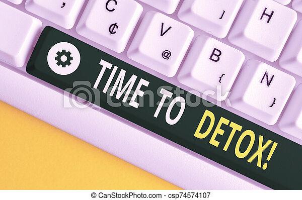 pc, nota, sobre, llave, concepto, droga, tiempo, o, papel, cuándo, texto, space., empresa / negocio, palabra, parada, consumidor, su, escritura, blanco, vacío, copia, cuerpo, detox., plano de fondo, usted, purificar, teclado, toxins - csp74574107