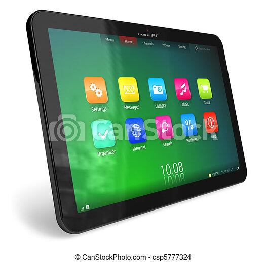 Tablet PC - csp5777324