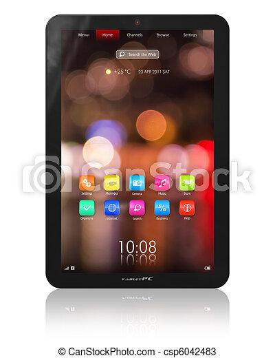 Tablet PC - csp6042483