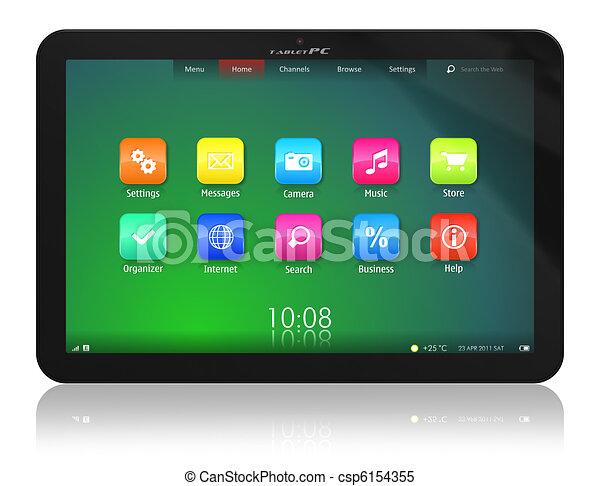 Tablet PC - csp6154355