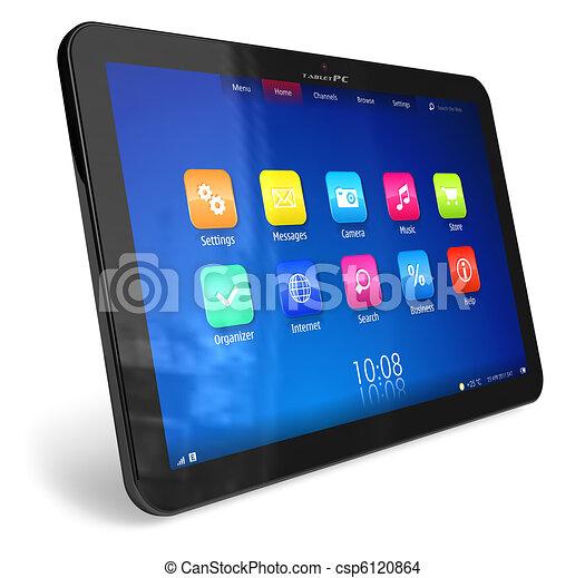 pc, tablette - csp6120864