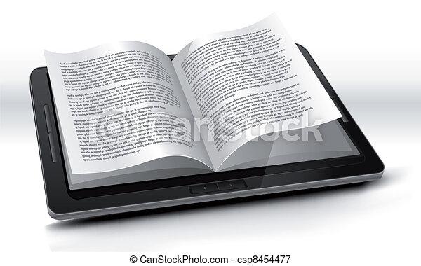 pc, tavoletta, e-reader - csp8454477