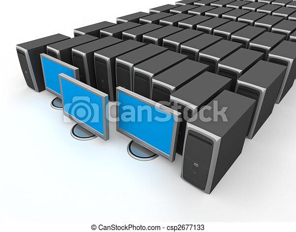 pc, workstation - csp2677133