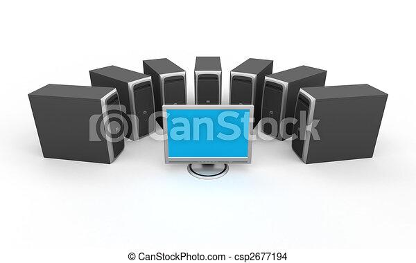 pc, workstation - csp2677194