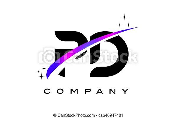 pd p d black letter logo design with purple magenta swoosh vector rh canstockphoto com pdf clip art weight loss jokes pdf clip art weight loss jokes