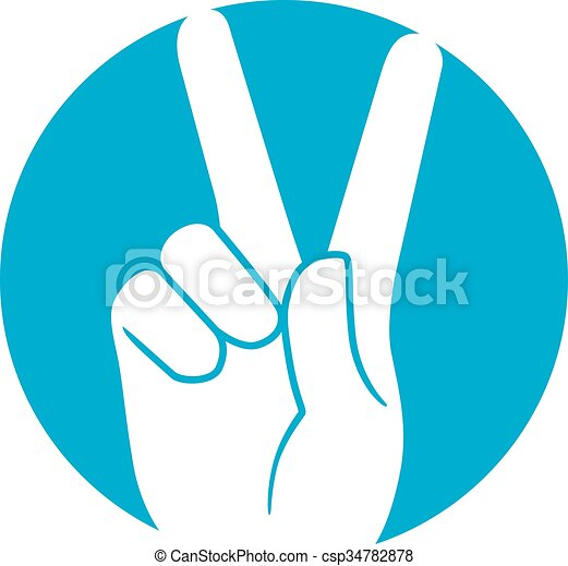 Peace Hand An Illustration Of A Peace Sign Vectors Illustration