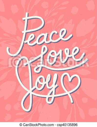 Peace love joy christmas lettering quote for invitations greeting peace love joy christmas lettering quote for invitations greeting cards and other designs m4hsunfo