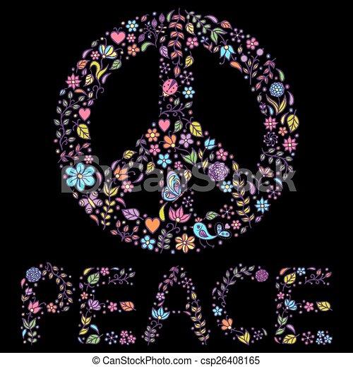 peace symbol - csp26408165