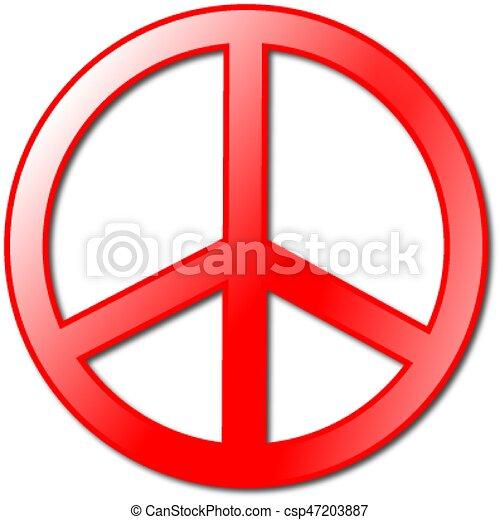 Peace symbol - csp47203887