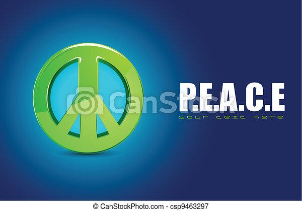 Peace Symbol - csp9463297
