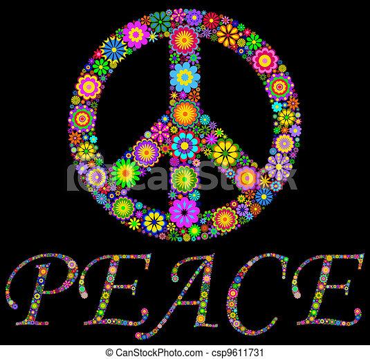 peace symbol - csp9611731