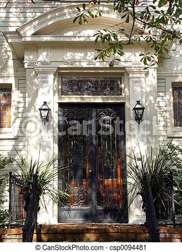 Peaceful Entrance - csp0094481
