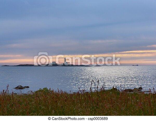 Peaceful Evening - csp0003689