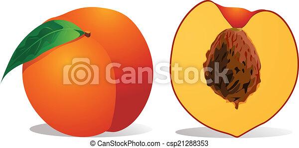 peach - csp21288353