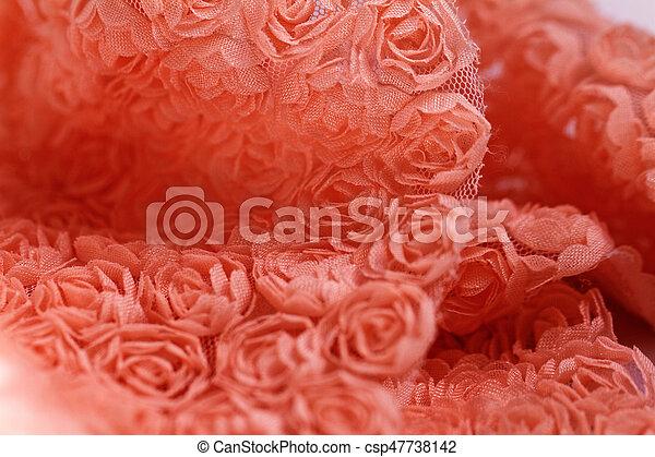 peach colored roses material macro photo