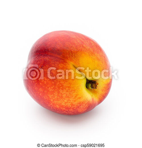 peach fruit with isolated on white background fruit with isolated on white background https www canstockphoto com peach fruit with isolated on white 59021695 html