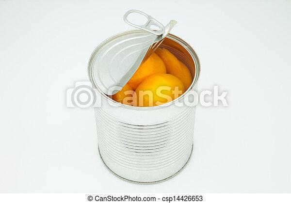peach in conserve - csp14426653