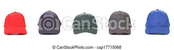 peaked, cap., cinq, fonctionnement - csp17715068