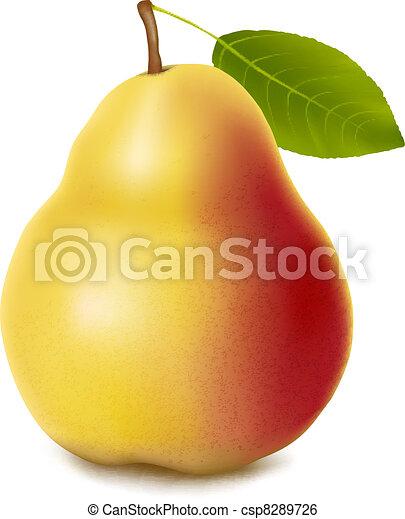 pear. - csp8289726