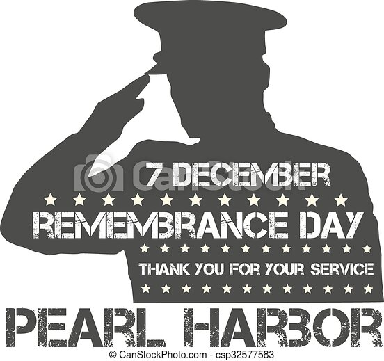 Pearl Harbor. Remembrance day - csp32577583