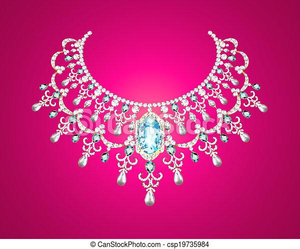 pearl necklace - csp19735984
