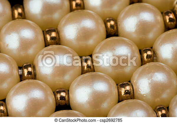 pearl necklace - csp2692785