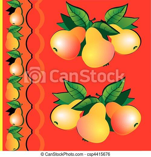 Pears. - csp4415676