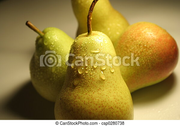 Pears fruits - csp0280738
