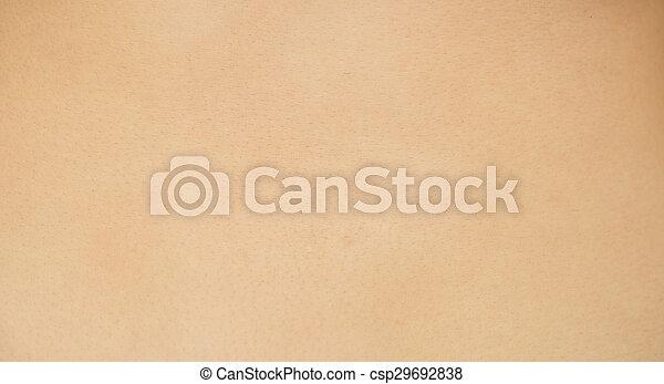 peau humaine - csp29692838