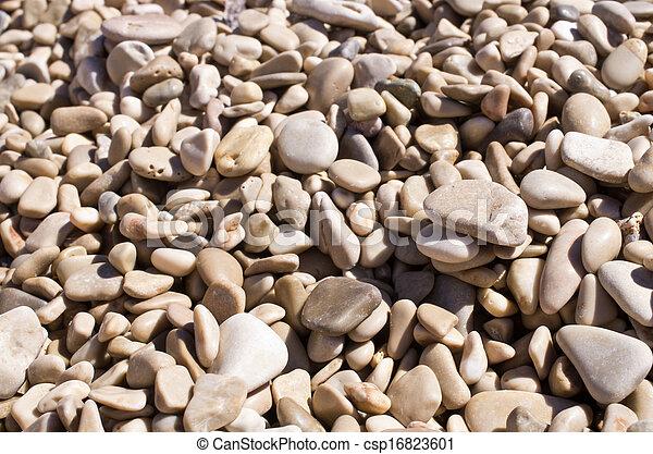 Pebble background - csp16823601