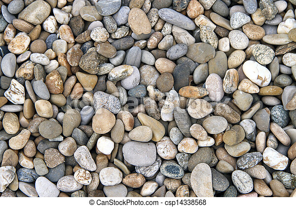 pebbles and stones : abstract composition - csp14338568