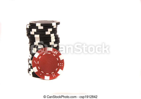 Chips de casino - csp1912842